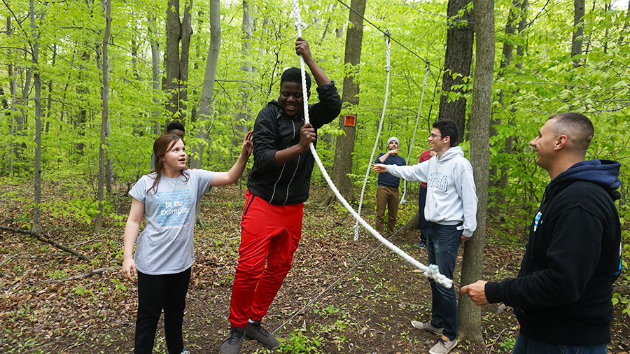 Ropes Course at Deeper
