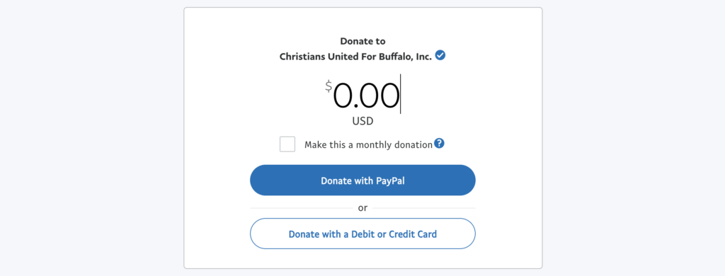 Charities to Donate to in Buffalo, NY - Paypal Giving