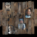 Wall of Forgotten Faces - Painting by Gary L Wolfe